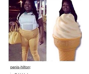 funny, chill, and ice cream image
