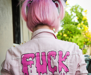 alternative, fuck, and pink image