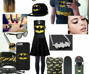 batman, LUke, and outfit image