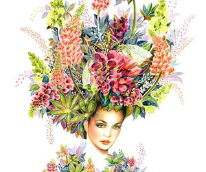 fashion, headdress, and insects image