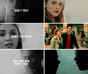 quote, teen wolf, and love image