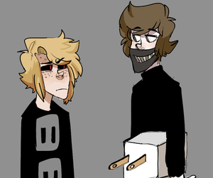 crepy, toby, and ticci toby image