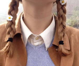 indie, aesthetic, and braid image