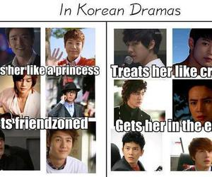funny, Korean Drama, and protect the boss image