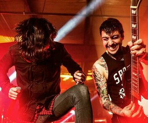 kellin quinn, tony perry, and sleeping with sirens image