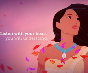 disney, pocahontas, and heart image