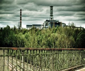 abandoned, chernobyl, and power plant image