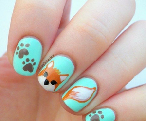 nails, fox, and animals image