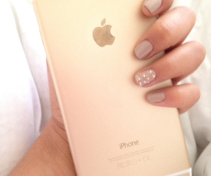nails, nud, and iphone 6 image
