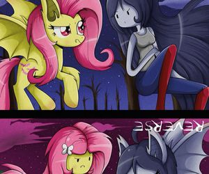 adventure time and fluttershy image
