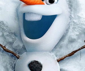 olaf, frozen, and he is so funny image