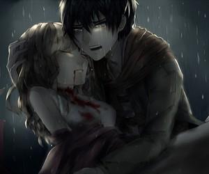 anime, sad, and boy image