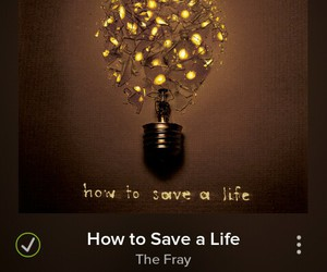 music, the fray, and how to save a life image