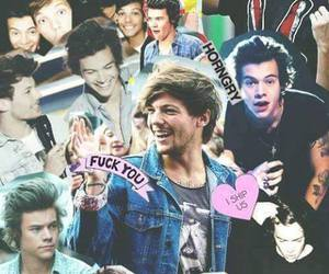background, larry, and 1d image