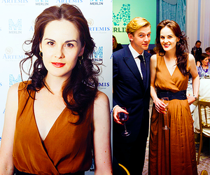 dan stevens, downton abbey, and michelle dockery image