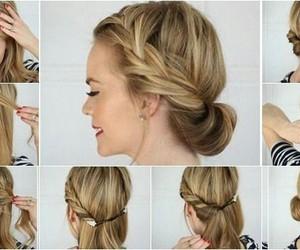 hair, hairstyle, and headband hair image