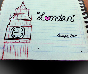 drawing, london, and mine image