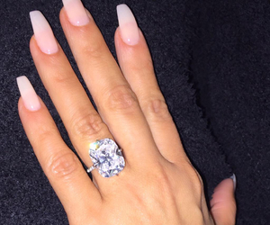 beauty, ring, and love image