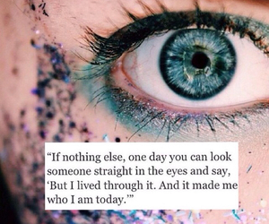 quotes, eye, and happiness image