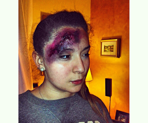 make up, film, and horror image