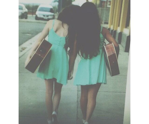 besties, cars, and dresses image