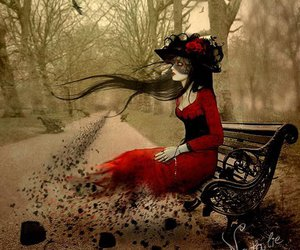 art, red, and Natalie Shau image