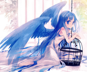 angel, art, and pixiv image