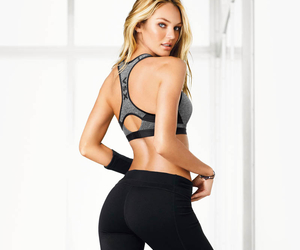 workout, candice swanepoel, and vs sport image