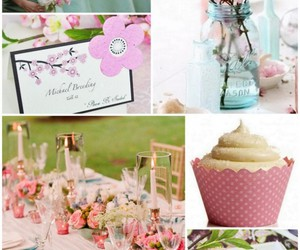 spring wedding ideas, spring party decorations, and spring wedding cakes image