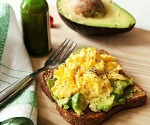avocado, fit, and yummy image