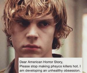 ahs, american horror story, and evan peters image