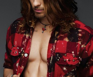30 seconds to mars, jared leto, and magazine image
