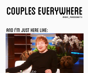 ed sheeran, funny, and singer image