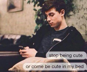 cute, boy, and shawn mendes image