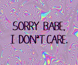 babe, sorry, and grunge image