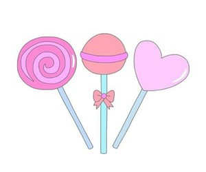 3, background, and lollipops image