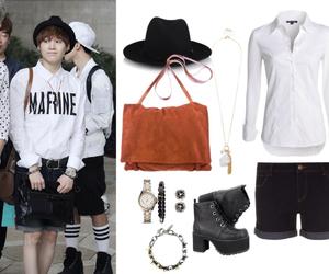 fashion, k-pop, and korea image