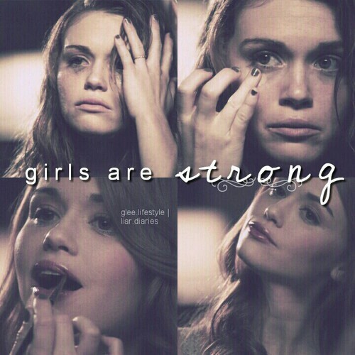 teen wolf, girl, and strong image