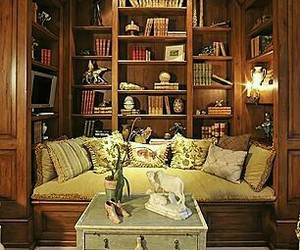 book nook, dream house, and home image