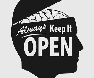 open, mind, and quotes image