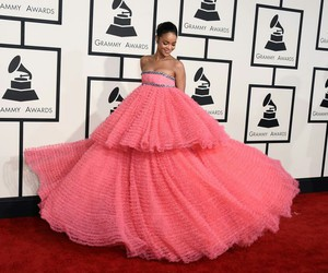 rihanna, dress, and pink image