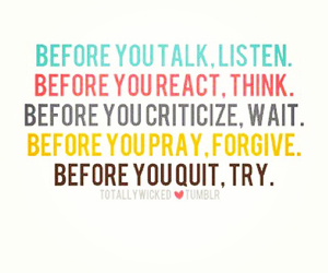 quotes, think, and try image