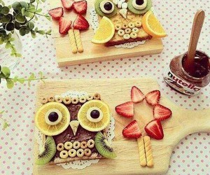 food, nutella, and owl image