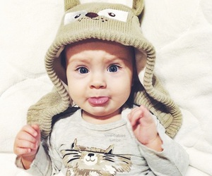baby, adorable, and cute image