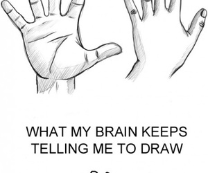 funny, draw, and drawing image