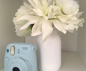 flower, blue, and diy image