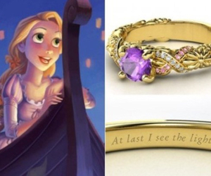 tangled, ring, and disney image