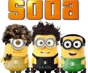 soda and minions image