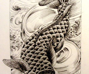 art, chinese, and dessin image