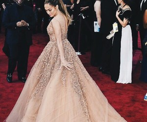 jlo, dress, and Jennifer Lopez image
